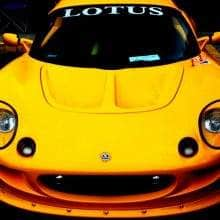 Lotus at Antique & Classic Car Show at the Bainbridge Island Grand Old 4th of July