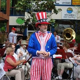 Entertainment: Home Town Band at the Grand Old 4th