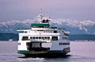 Link to Seattle-Bainbridge Island Ferry Schedule