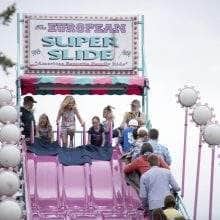 The European Super Slide is an annual favorite.